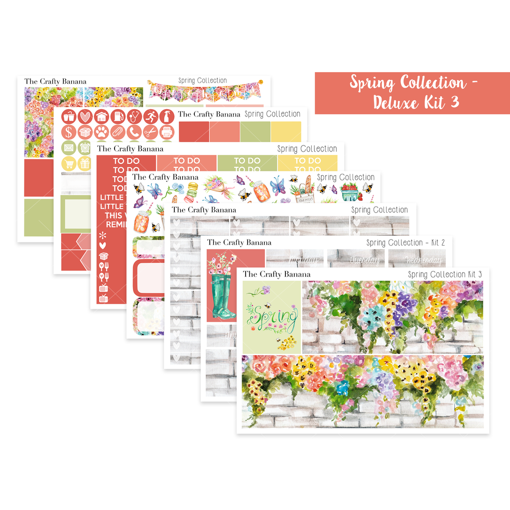 Spring Collection Deluxe Kit 3 - The Original Full Boxes *NEW*