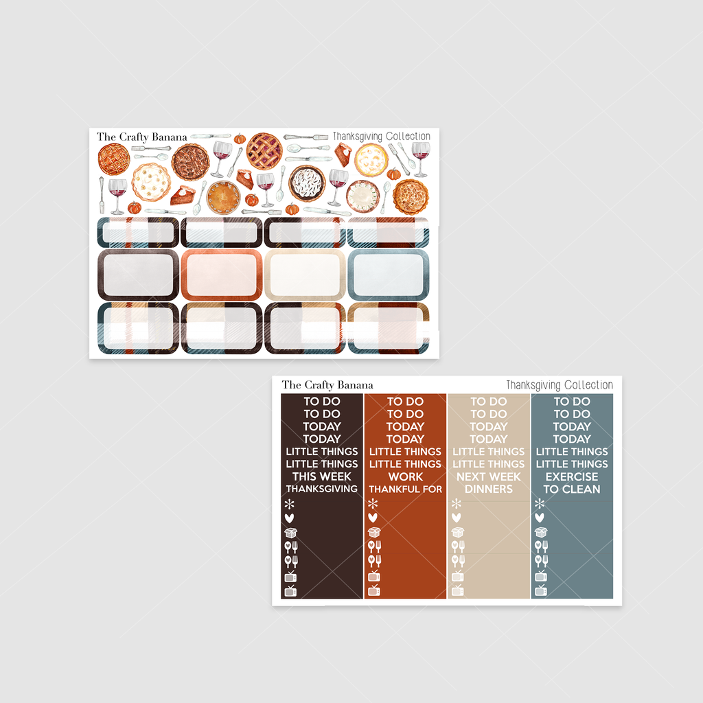 *Thanksgiving Collection: Deco & Headers