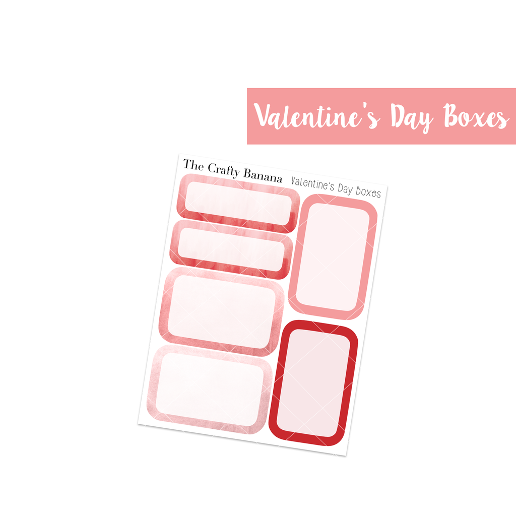 Valentine's Day: Round Boxes