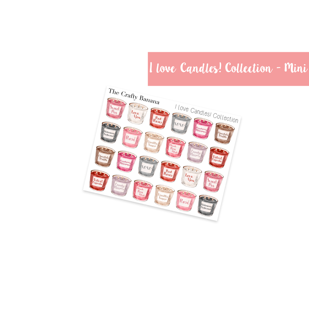 I Love Candles! Collection: Mini