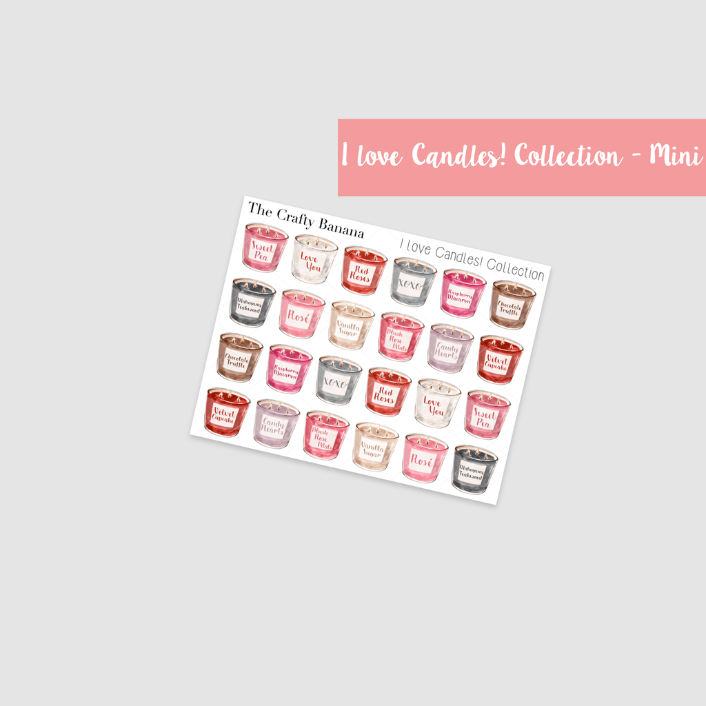 *I Love Candles! Collection: Mini