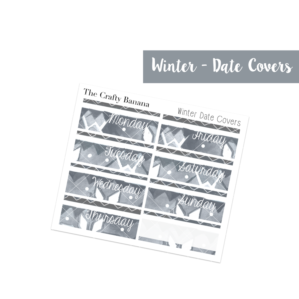 Winter Collection: Pattern Date Covers