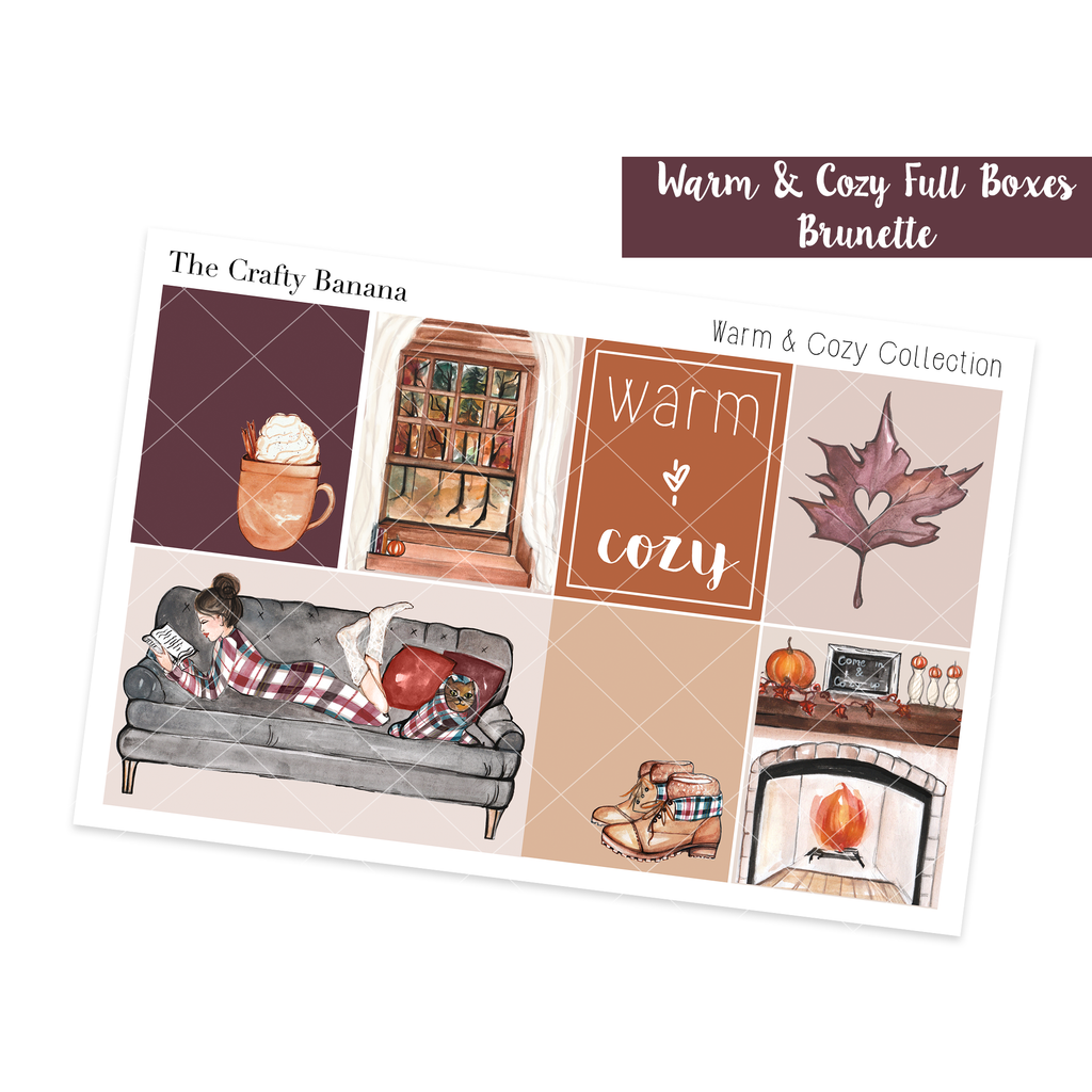 Warm & Cozy Full Boxes - Brunette