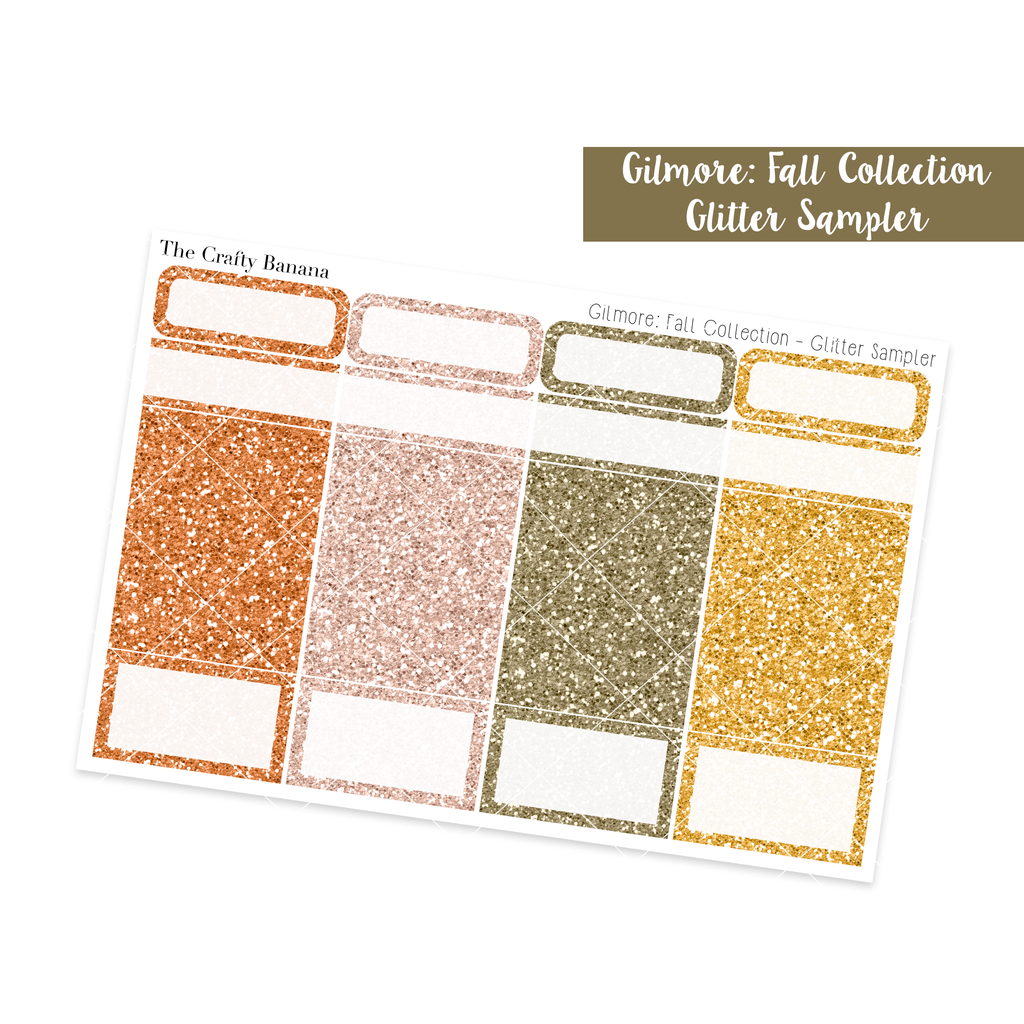 Gilmore: Fall Collection - Glitter Sampler