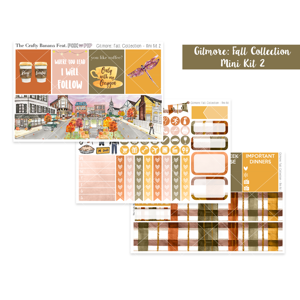 Gilmore: Fall Collection: Mini Kit 2 - The Original Full Boxes
