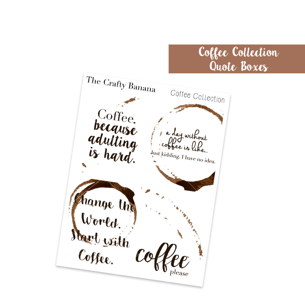 Coffee Quote Full Boxes