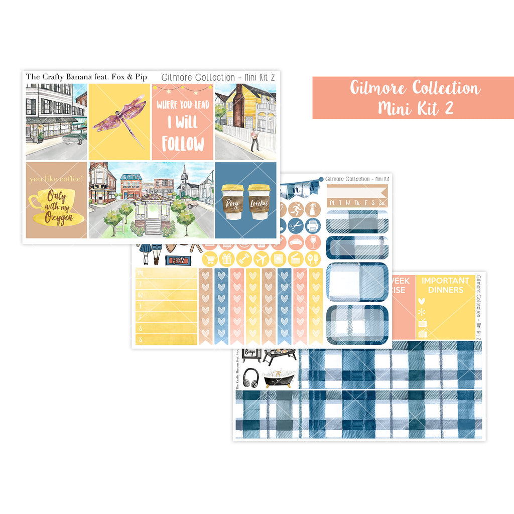 Gilmore Collection Mini Kit 2 - The Original Stars Hollow Inspired Full Boxes