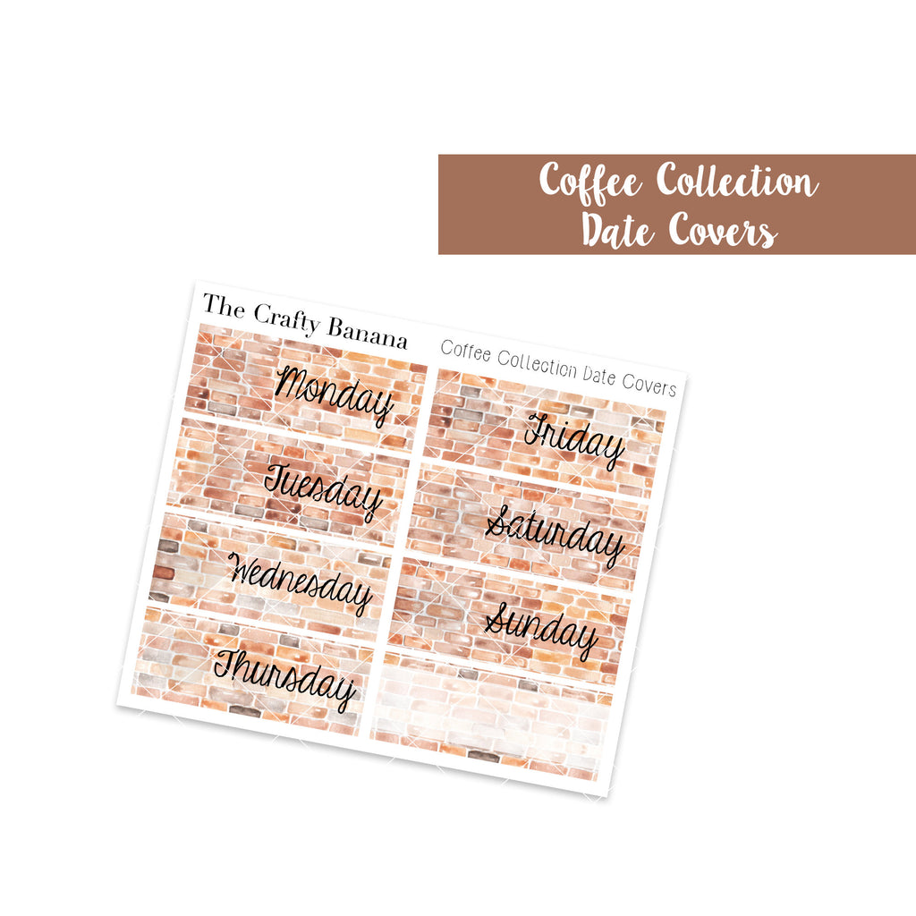 Coffee Collection Date Covers