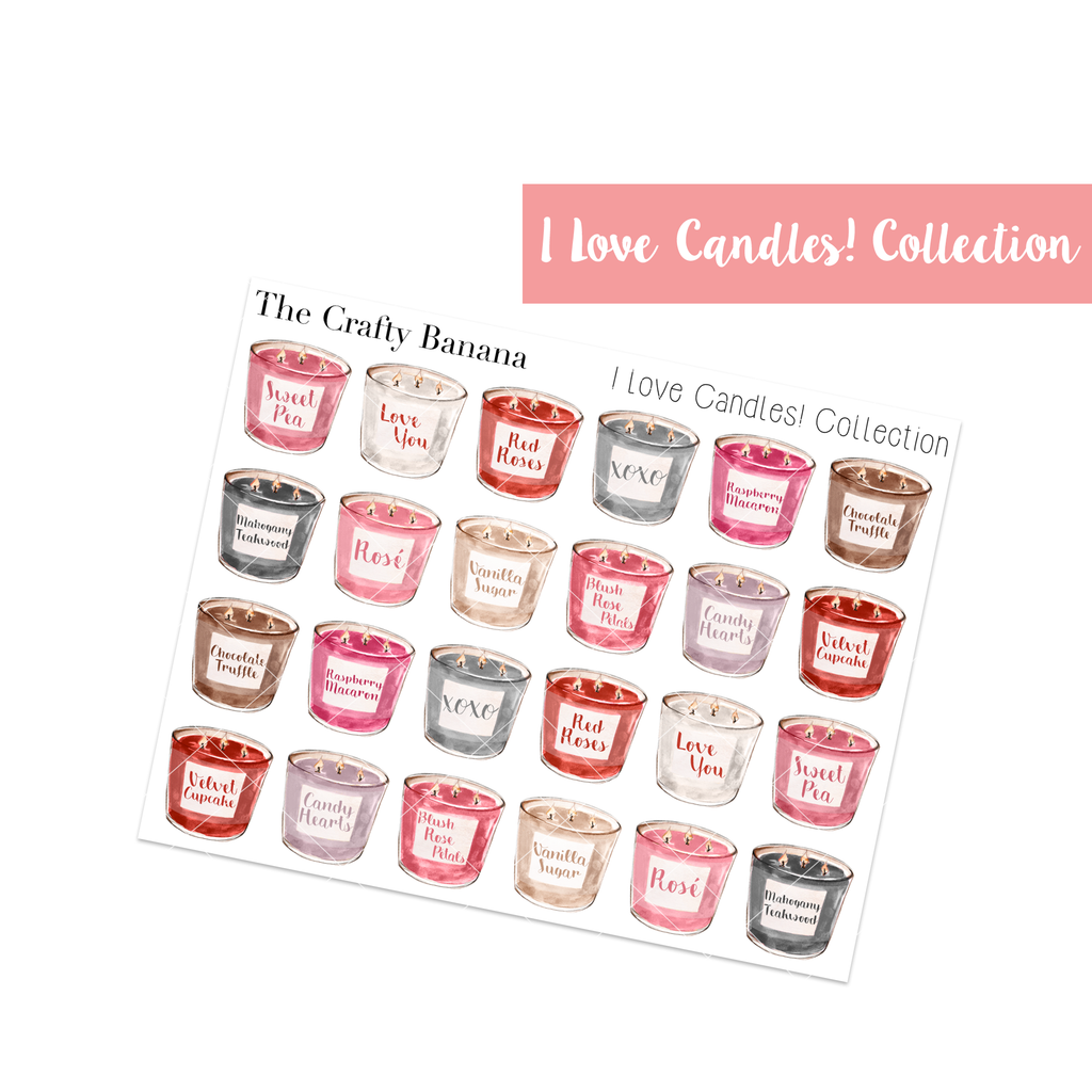I love Candles! Collection: Regular