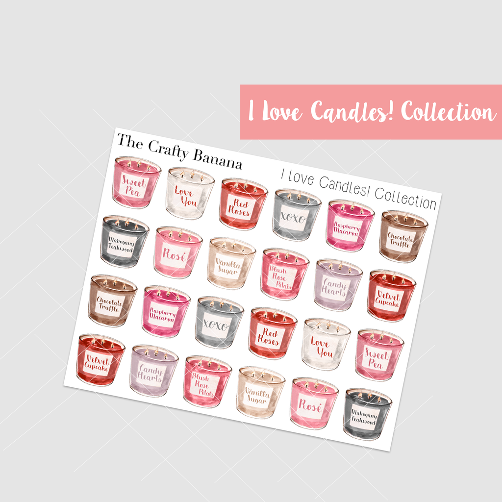 *I love Candles! Collection: Regular