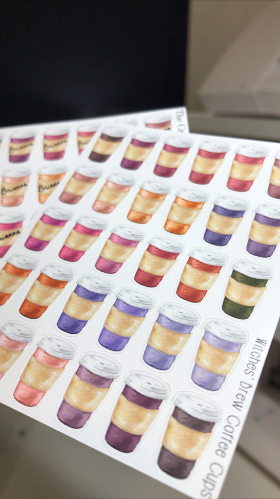 Witches' Brew Customizable Coffee Cups