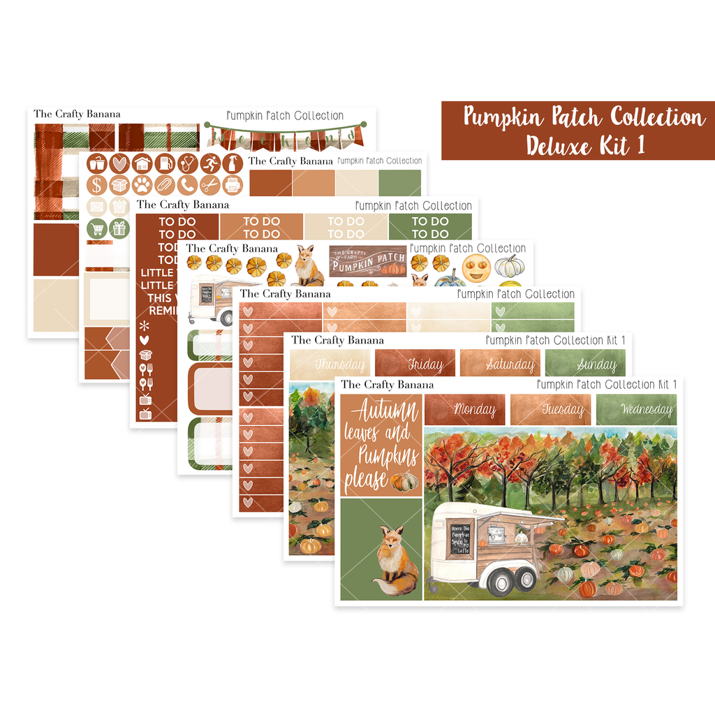 Pumpkin Patch Collection: Deluxe Kit 1