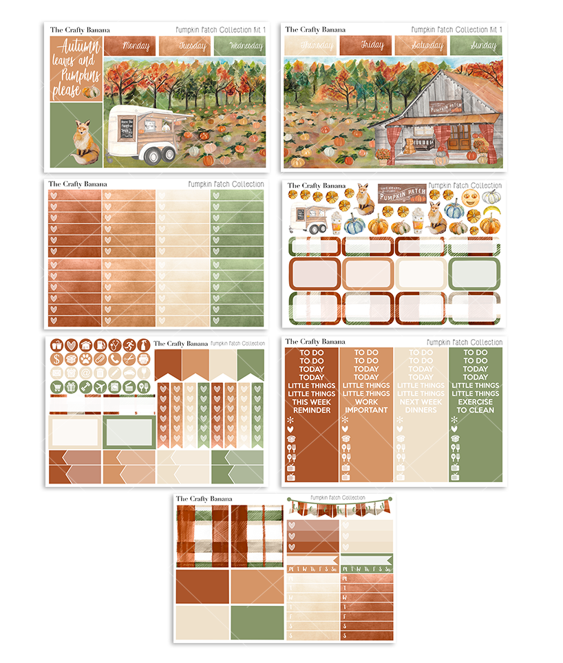 Pumpkin Patch Deluxe Kit 1 - The Scene