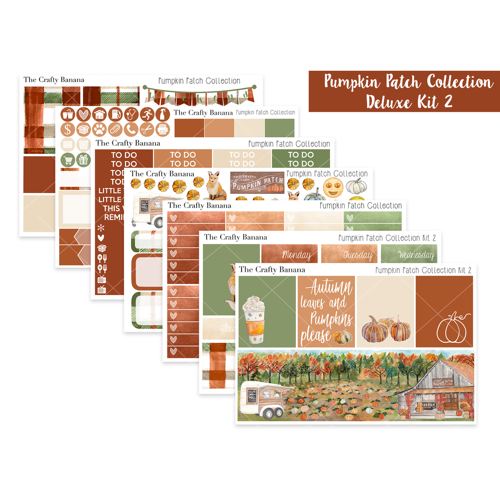 Pumpkin Patch Deluxe Kit 2 - The Original Full Boxes