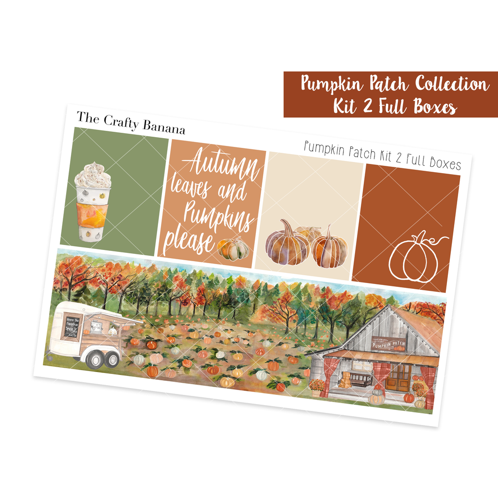 Pumpkin Patch Collection: Full Boxes