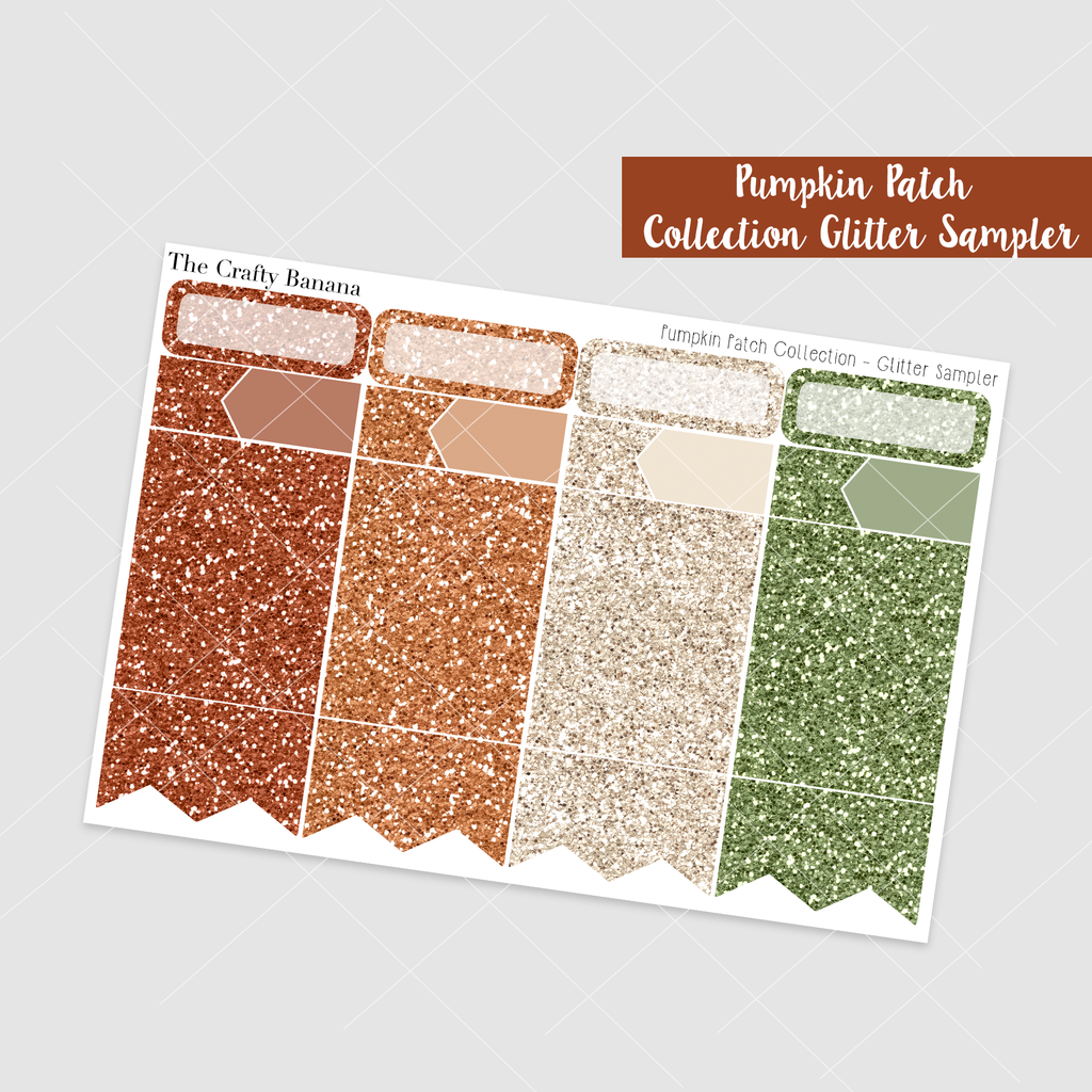*Pumpkin Patch Collection: Glitter Sampler