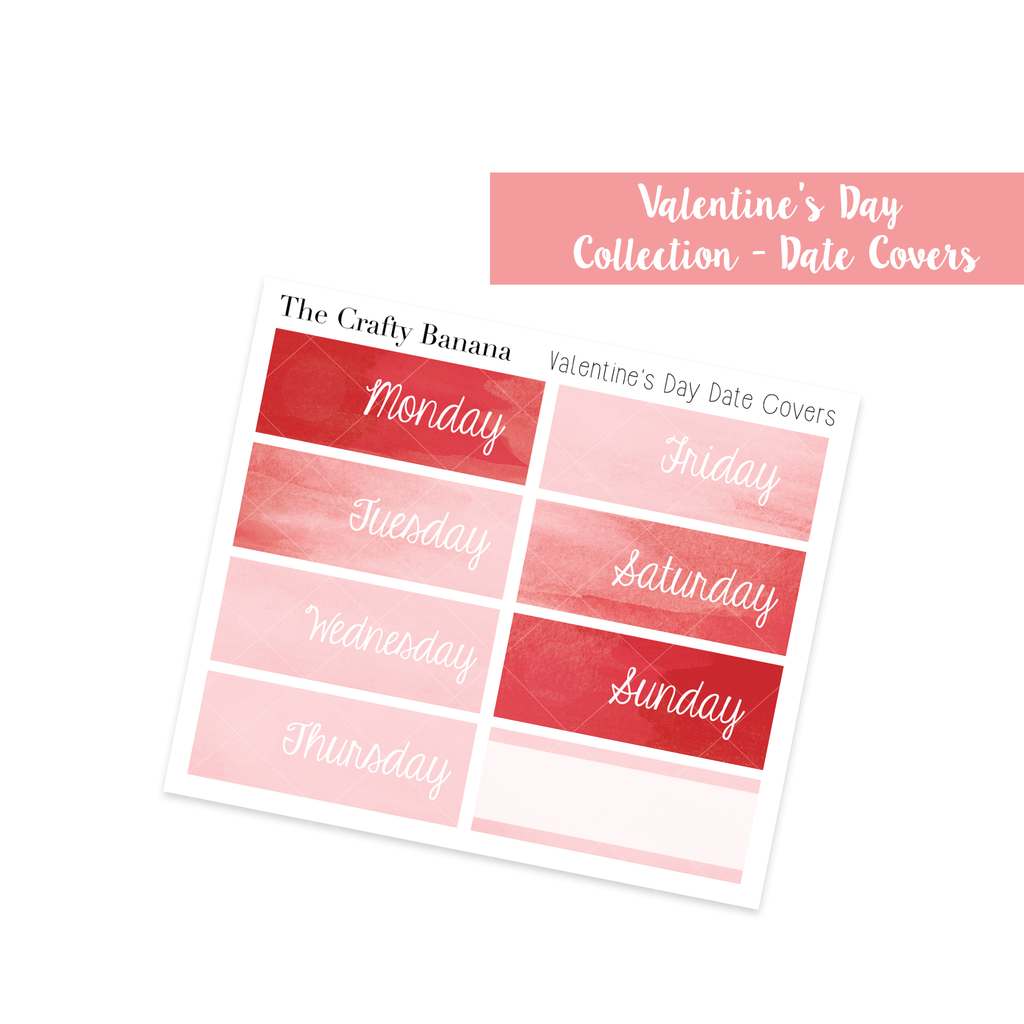 Valentine's Day: Pattern Date Covers