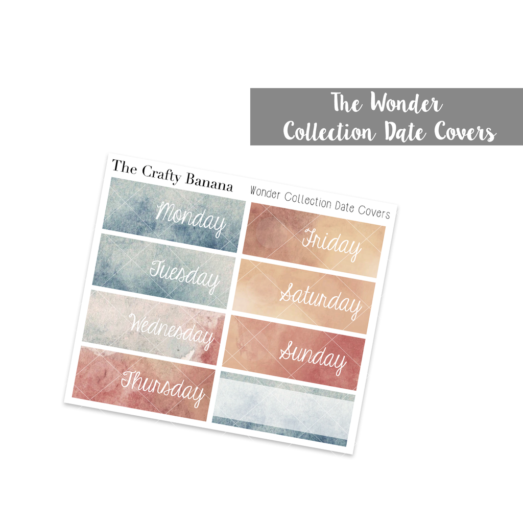 Wonder Date Covers