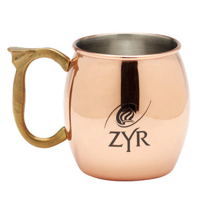 Zyr Vodka Copper Mule Mug - Set of 2