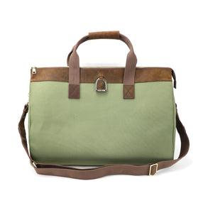 Weekender Bag in Brindle & Sage