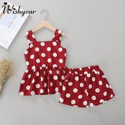 Polka Dot Tank & Shorts Set