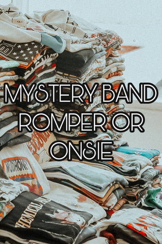 MYSTERY Style Band Romper/Onsie