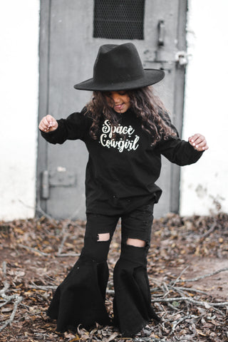 Space Cowgirl Long Sleeve Tee