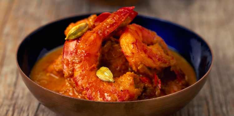 GAMBAS CURRY