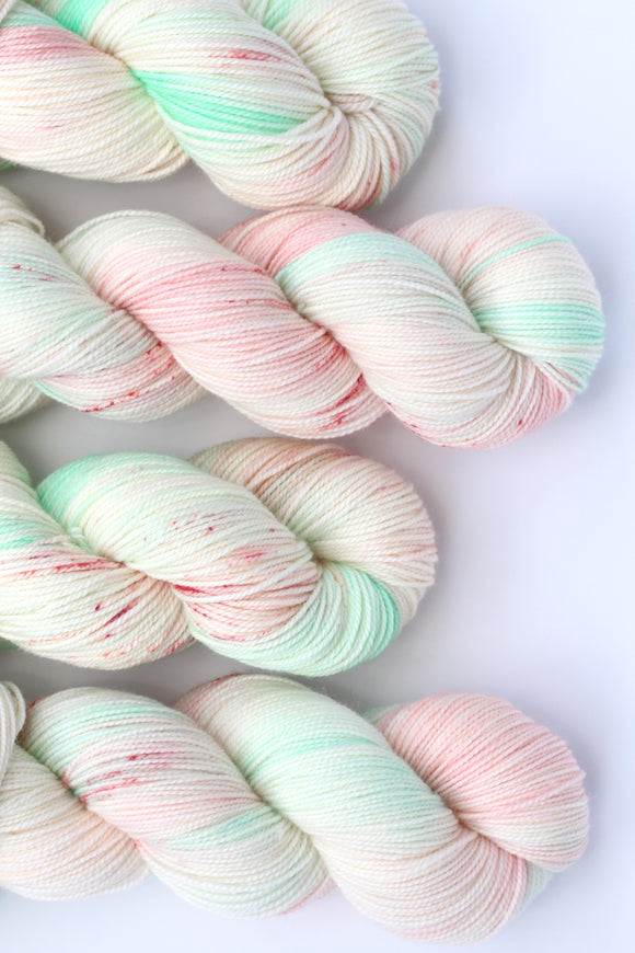 COTTON CANDY | decadent fingering | speckled yarn