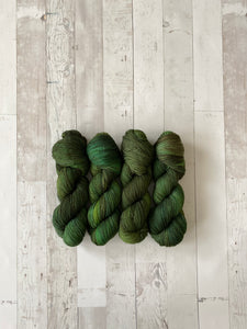 VIRIDIAN | limited sock | tonal yarn