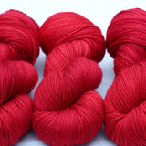 RUBY | lux sock | tonal yarn