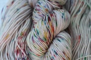 HARVEST MOON | lux | speckled yarn