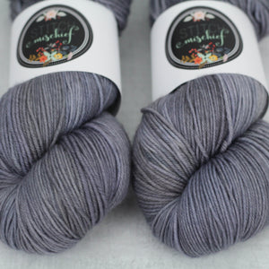 PEWTER | stellar sock | tonal yarn