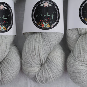 FROST | decadent fingering | speckled yarn