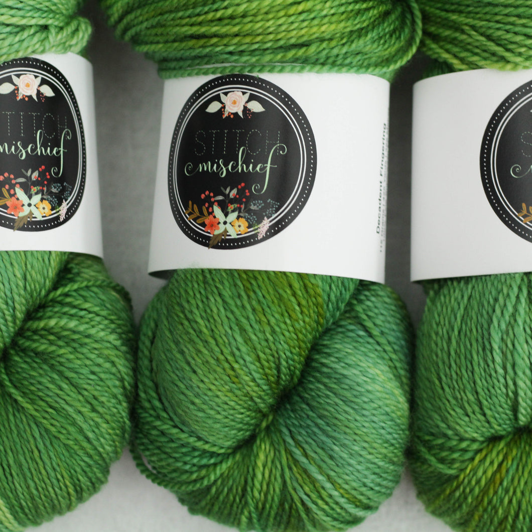 DURIAN | decadent fingering | speckled yarn