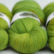 Load image into Gallery viewer, CHARTREUSE | decadent fingering | speckled yarn