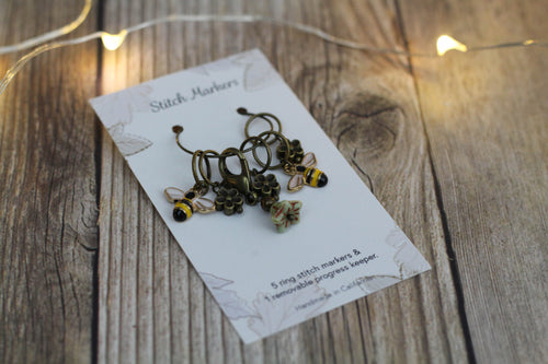 Bee & Bloom Stitch Markers