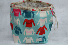Load image into Gallery viewer, ORIGINAL FINCH BUCKET No. 4 | ready to ship |  large project bag, toy basket, yarn bowl
