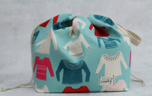 Load image into Gallery viewer, ORIGINAL FINCH BUCKET No.7 | ready to ship |  large project bag, toy basket, yarn bowl