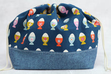 Load image into Gallery viewer, ORIGINAL FINCH BUCKET No. 8 | ready to ship |  large project bag, toy basket, yarn bowl