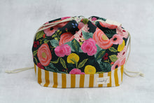 Load image into Gallery viewer, ORIGINAL FINCH BUCKET No. 9 | ready to ship |  large project bag, toy basket, yarn bowl