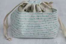 Load image into Gallery viewer, WEE BRAW BAG | ready to ship | small project bag, knitting bag