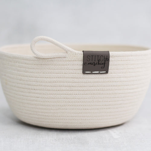 Classic Rope Bowl (the bowl without the bits) - PREORDER