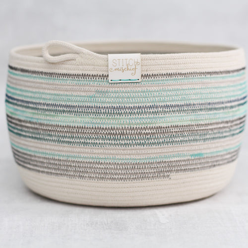 Rope Bowl - Scrappy Bobbin Bowl
