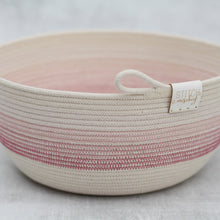 Load image into Gallery viewer, Rope Bowl - Pink Gradient Bowl