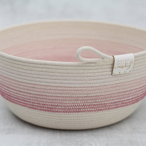 Rope Bowl - Pink Gradient Bowl