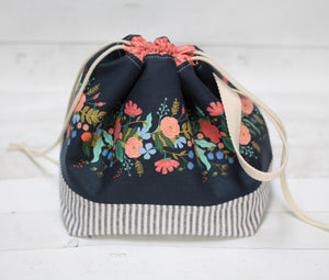 FINCH BUCKET LIBRARY PDF bag pattern