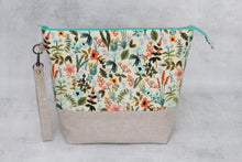 Load image into Gallery viewer, TWIGGY No. 2 | ready to ship -  extra tall + large project bag, fabric yarn bowl, knitting bag, or makeup bag