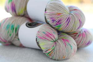 PRISM | decadent fingering | speckled yarn