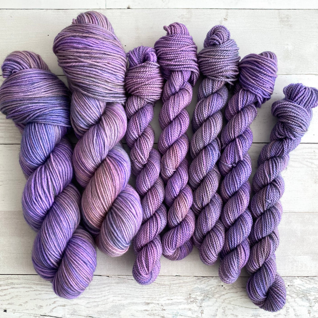 OOAK | spring collection | tonal yarn